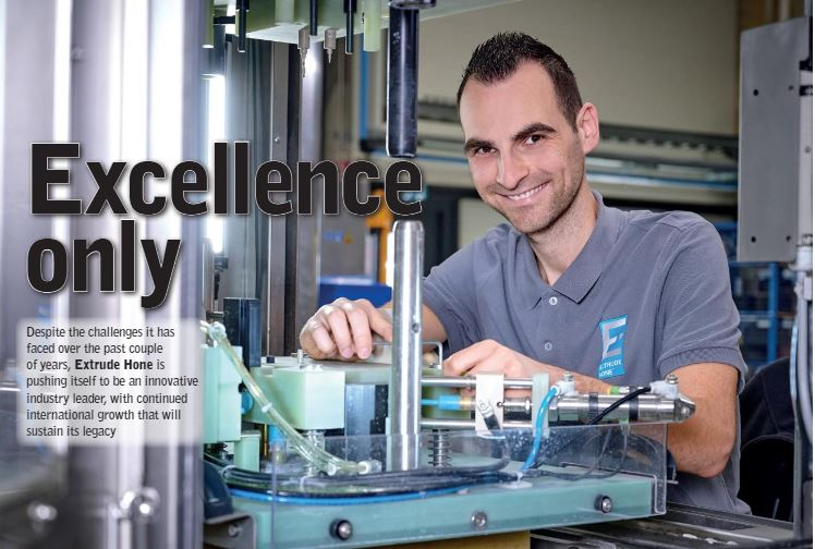 EXTRUDE HONEは、雑誌「Manufacturing Today」